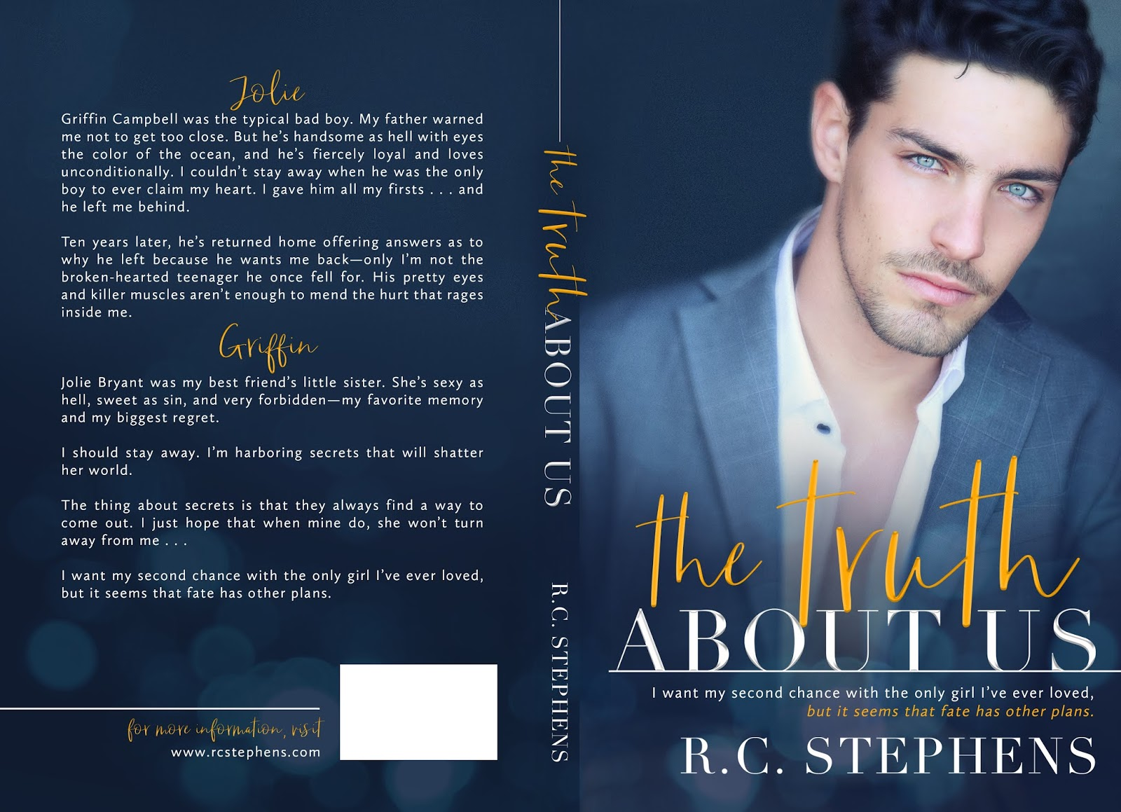 Cover Reveal: The Truth About Us – AC Squared Book Blog